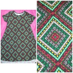 Carly dress L lularoe excellent condition